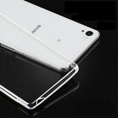 Ultra thin Transparent Clear Soft TPU Silicone Case Cover For Sony Xperia Series