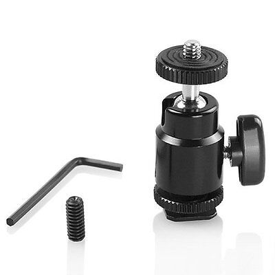 "LCD Monitor Shoe Adapter 1/4"" Camera Hot Shoe Mount w/ Additional 1/4"" Screw for"