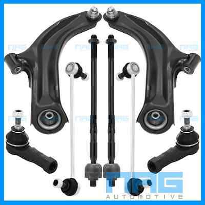 Kit Bras Triangle De Suspension + Biellettes + Rotules Renault Clio 3 Iii 08-15