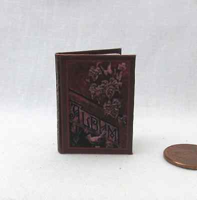 VINTAGE PHOTO ALBUM Miniature Book 1:6 Scale Book Play Scale 6th Scale