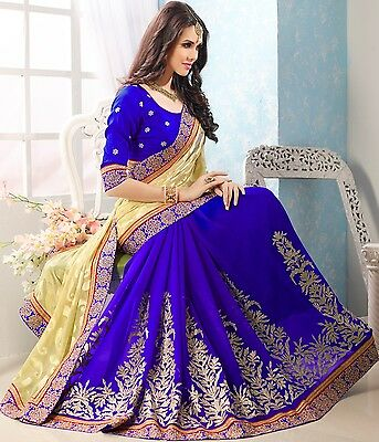 Indian Party wear designer Wedding Bollywood Saree