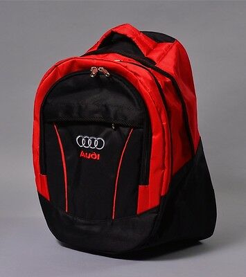 New Audi Black Backpack Bag