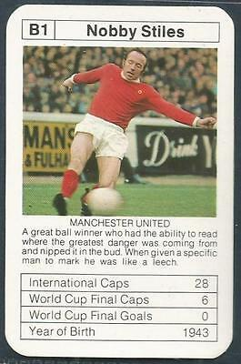 Bobby Charlton's World Cup Aces-1977-78-B1-Manchester United-Nobby Stiles
