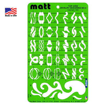 Matt Wax Fancy Rings Template Variety Designs Jewelry Casting Shaping Tool
