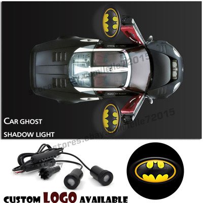Car Door LED The Batman Logo Welcome Light Ghost Shadow Projector Laser Courtesy