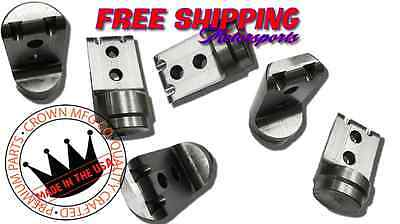 """Crown MFG Polaris RZR 1000 1K 900 1 3/4"""" Roll Cage Connectors Adapters Bungs"""