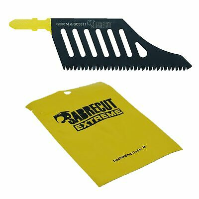 1x Sabrecut Flush Cutting Jigsaw Blade For Dewalt DT2074 Wood T Shank HCS