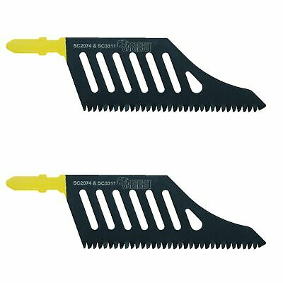 2x Sabrecut Flush Cutting Jigsaw Blade For Dewalt DT2074 Wood T Shank HCS