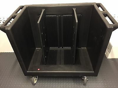 Cambro TDC 30 Dish Caddy Cart Holds Plates, trays