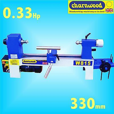 Charnwood W815 330mm Benchtop Mini Woodturning Lathe wood bowl turning carving