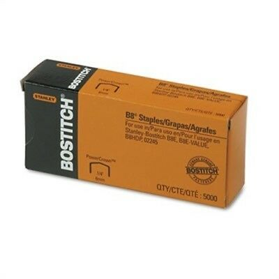 Full Strip B8 Staples, 1/4 Inch Leg Length, 5,000/Box - x 2