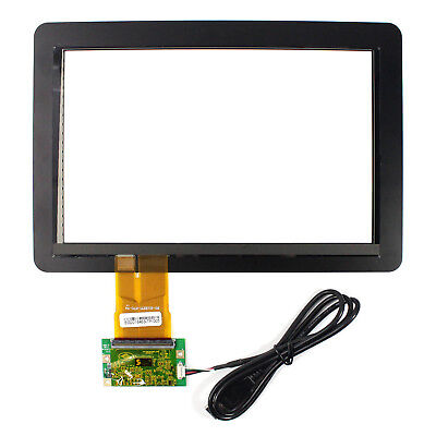 """10.1"""" Capacitive touch screen+USB controller for 1280x800 1920x1200 16:10 lcd"""