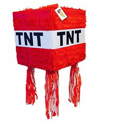TNT Pinata Red Color Fully Assembled & Ready to Use Sale!!!