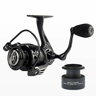 KastKing Mela II Freshwater Spinning Reel - Light Smooth Spinning Fishing Reel