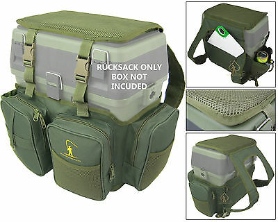 Sea Fly Fishing Seat Box Ruck Sack Converter Roddarch Roving Backpack Rucksack