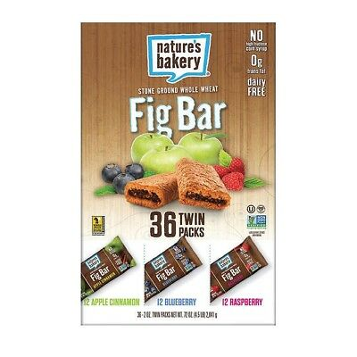 Nature's Bakery All Natural Fig Bars 72-Count