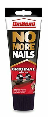 Unibond No More Nails Original Interior/Indoor Use 200ml Tube For Instant Hold