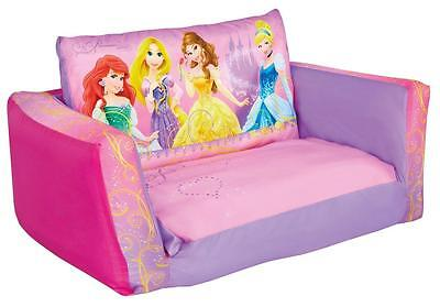 Disney Princess Inflatable Flip Out Mini Sofa and Lounger - Girls Chair NEW