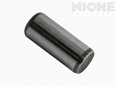 Dowel Pin 1/8 x 3/8 Alloy Steel ASME B18.8.2 (100 Pieces)