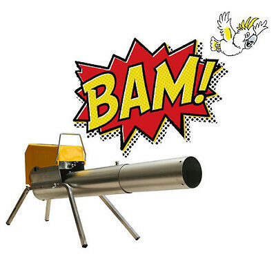ZON Mark 4 LPG operated pest deterrent Cannon Bird Kangaroo scarer Gas Gun