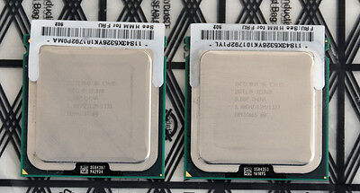 Pair (2x) Intel Xeon E5405 Quad Core 2.0GHz/12MB/1333MHz CPU Processor - SLBBP