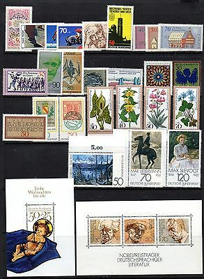 West Germany Collection from 1978 - 1984 (almost complete - all listed) UN/MINT