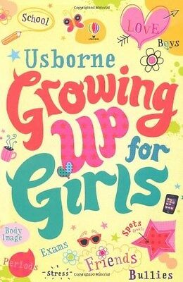 Growing Up for Girls by Felicity Brooks (New Paperback Book)