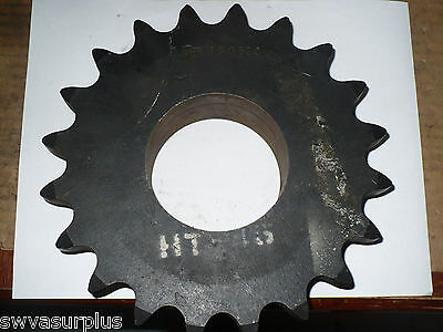 "Martin 100B20 Sprocket, 3-7/16"" Bore, New"