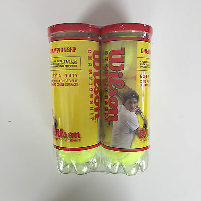 Wilson Championship Tennis Balls 15 Cans Factory Sealed