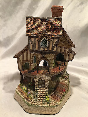 Mad Baron Fourthrite's Folly – David Winter Cottages – Hand made – Hand painted