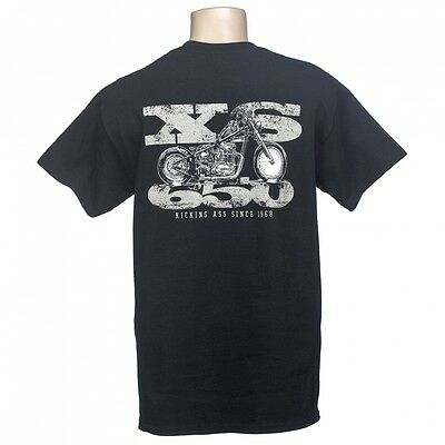 Lowbrow Customs XS650 Since 1968 Chopper T-Shirt Harley Triumph Honda