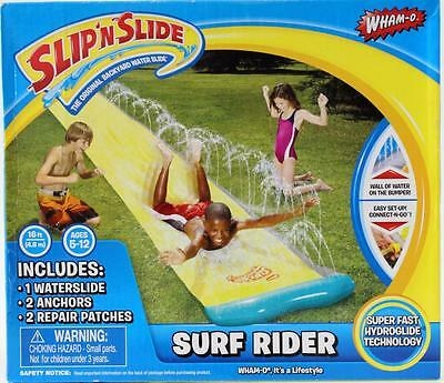 Slip n Slide  Surf Rider Wham-O Outdoor Water Fun for Kids 4.8mts Long