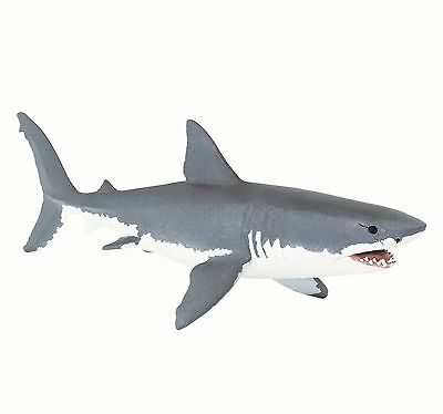 GREAT WHITE SHARK 2016 Safari Ltd Wild Safari Sea Life NEW 200729