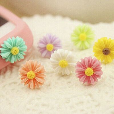 10X Daisy Cell Phone Accessories Anti Dust Plug for Mobile Phone Jack Plug CF4