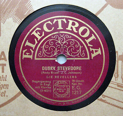The Revellers - Dusky Stevedore / Blue Shadows  Electrola (196)