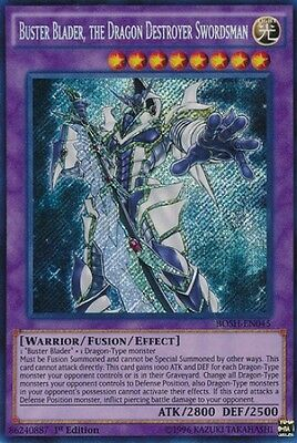 Buster Blader, the Dragon Destroyer Swordsman (BOSH-EN045) - Secret-N. Mint-1st