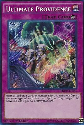 Ultimate Providence (BOSH-EN081) - Secret Rare - Near Mint - 1st Edition