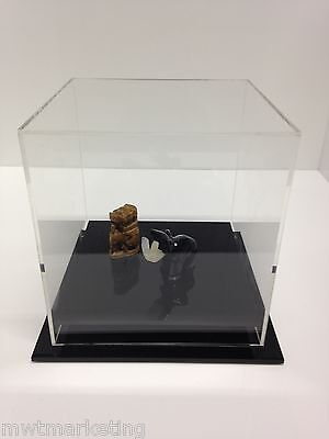 Display Case Deluxe Acrylic Perspex - Collectables 220 x 220 x 200mm