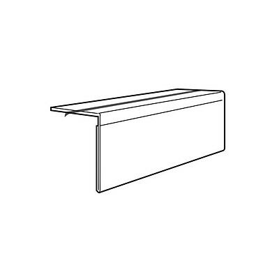 "SET OF 20 SHELF TALKER PRICE LABEL HOLDER 4.1""x3.0"" TOP FIX WITH TAPE"