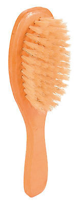 Wooden Brush with Natural Bristles for Gentle Care Cat & Dog Grooming Brush