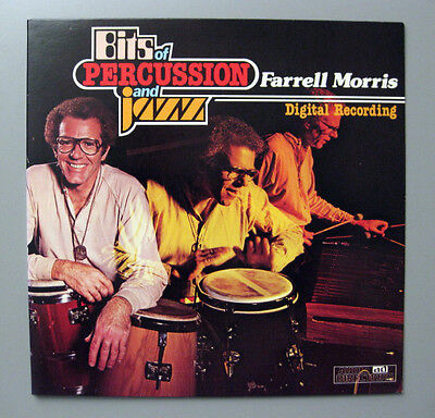 Farrell Morris & Stan Getz,R.Carter u.a.- Bits Of Percussion And Jazz  Lp ad
