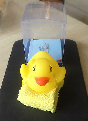 Brand New First Steps Baby Bath Toy Duck & Wash Cloth Kids Child Floating Toys