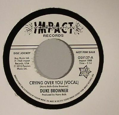"BROWNER, Duke - Crying Over You - Vinyl (7"")"