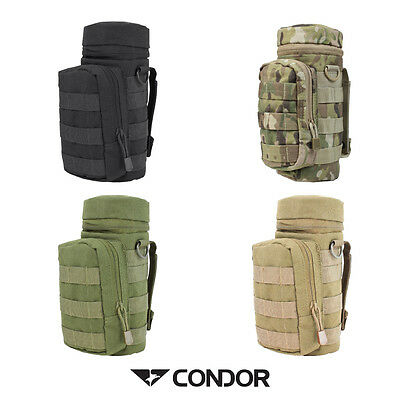 Condor H20 Pocket Hydration Water Bottle Carrier Molle Mountable Pouch MA40