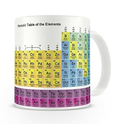 Periodic Table Of The Elements Mug / Geeky / Gift