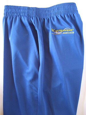 New! Bowlswear Men's Royal Blue Comfort Fit Trousers Only $45 with Free Postage!