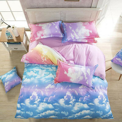 CLOUDS Queen/King/Super King Size Bed Duvet/Doona/Quilt Cover Set New