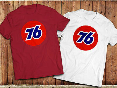 Retro Union 76 Petrol T-Shirt, gas station, US oil, motorsport, car, auto