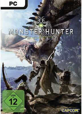 Monster Hunter World STEAM CD KEY [DE/EU] PC Spiel Download Code NEU