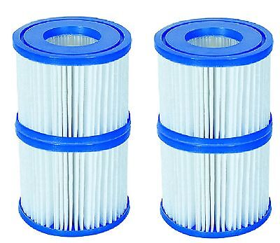 2 x Twin Pack of  Lay-Z-Spa Type VI Replacement Filter Cartridges BW58323